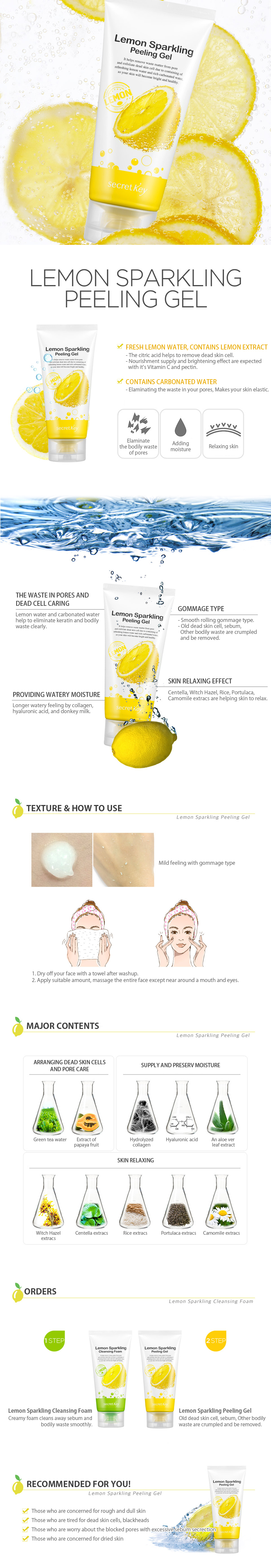 Image result for secret key lemon sparkling peeling gel