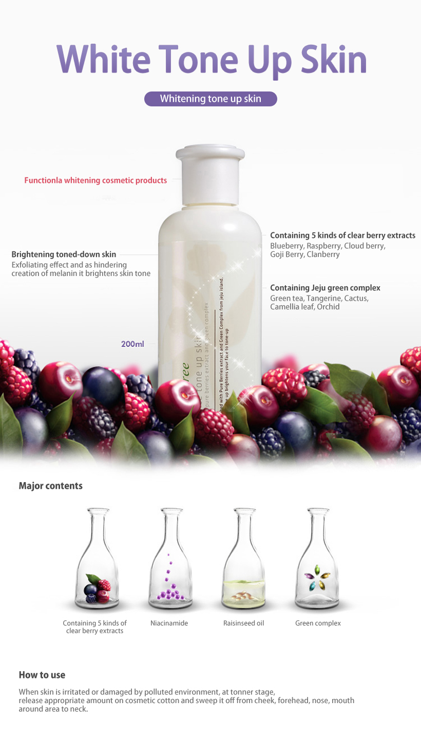 [ INNISFREE ] White Tone Up Skin 200ml