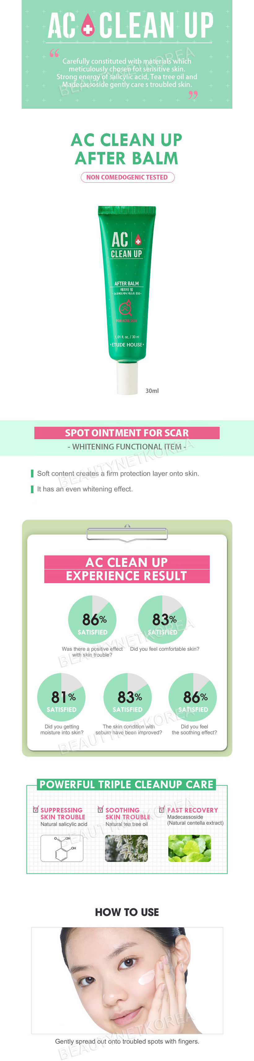 Image result for ETUDE HOUSE AC Clean Up After Balm 150ml